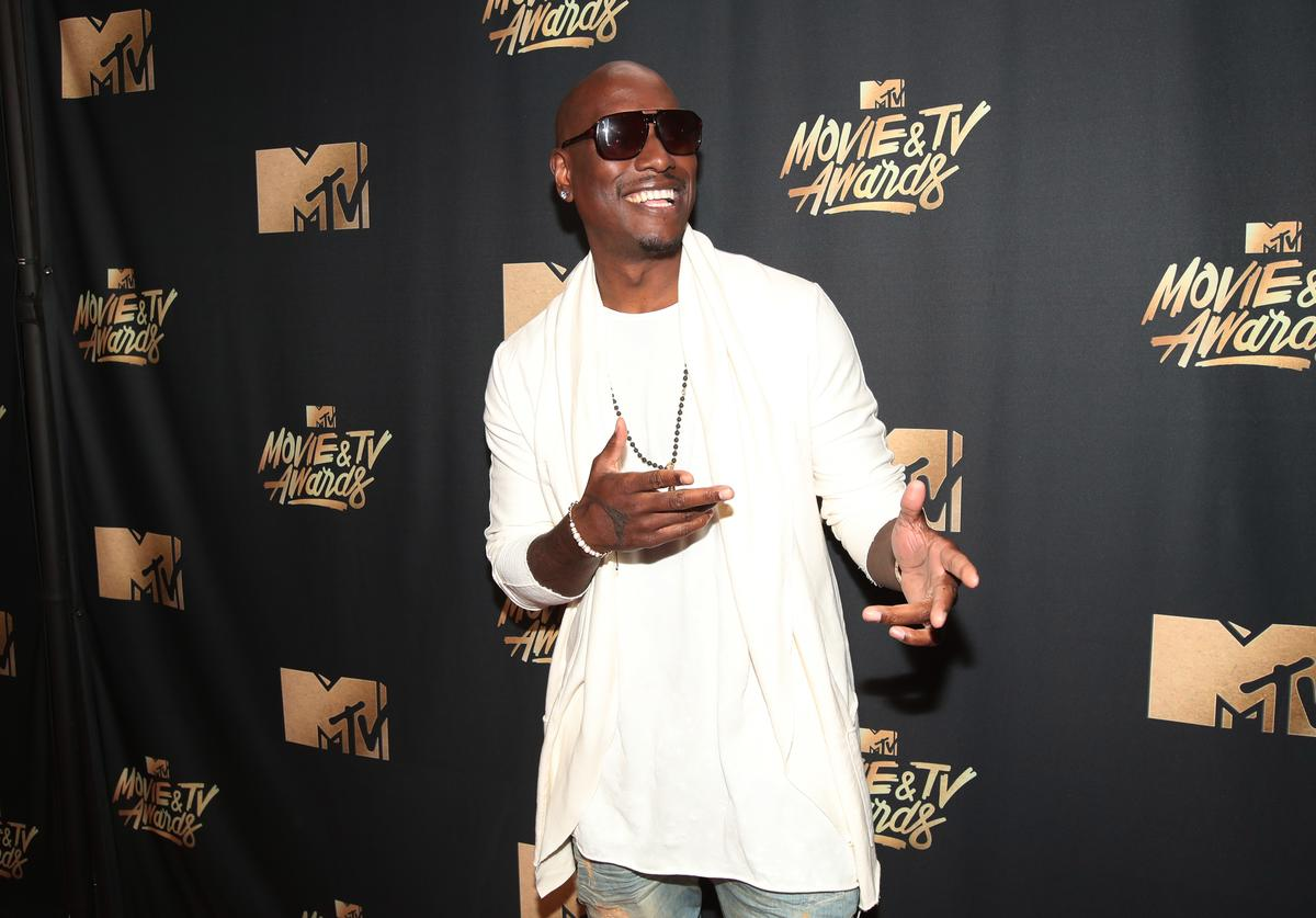 Tyrese at 2017 MTV awards