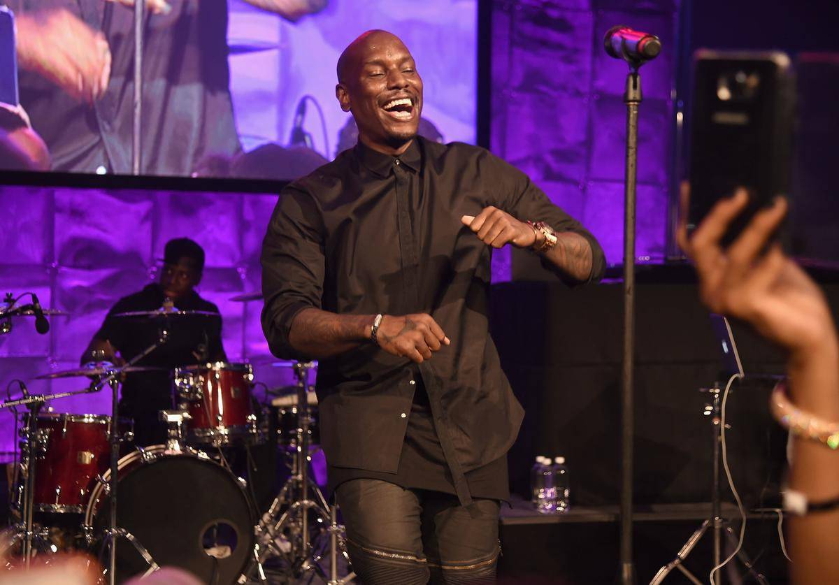 Tyrese Gibson at Arts Foundation