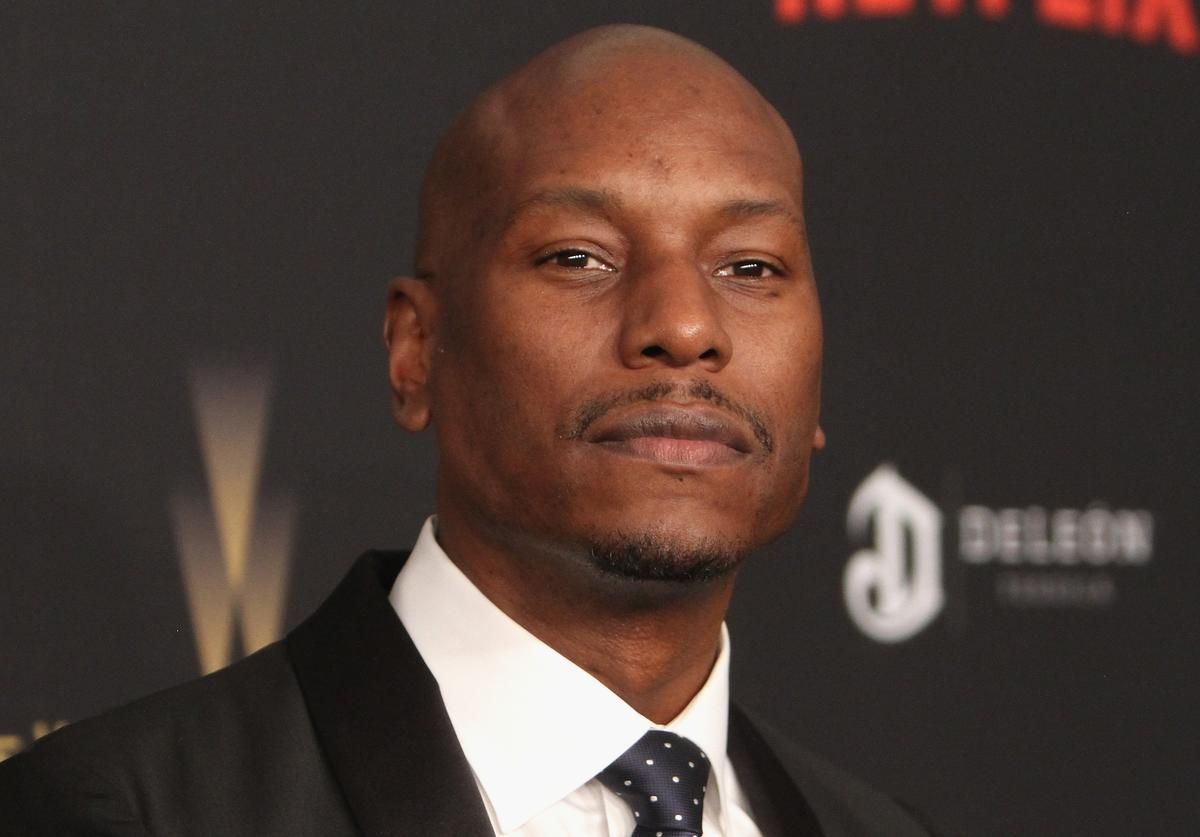 Tyrese at golden globe after party