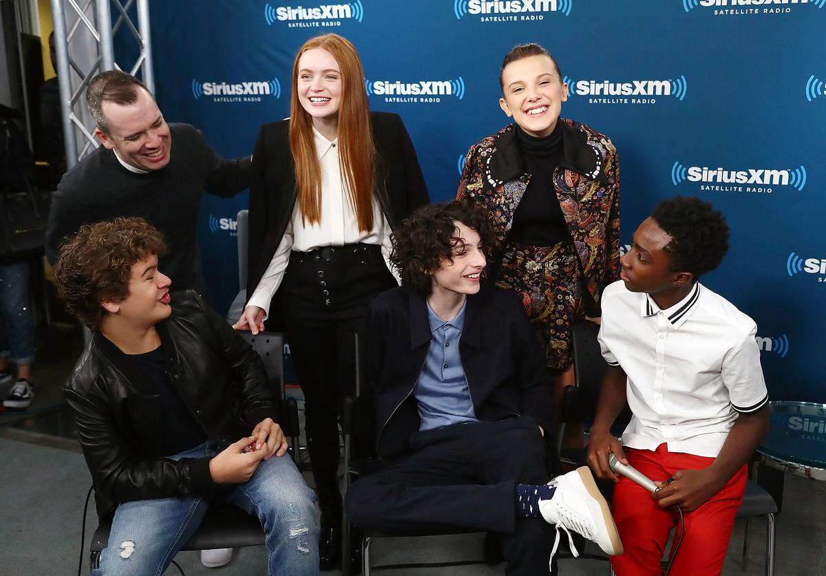 Stranger Things Cast at SiriusXM event