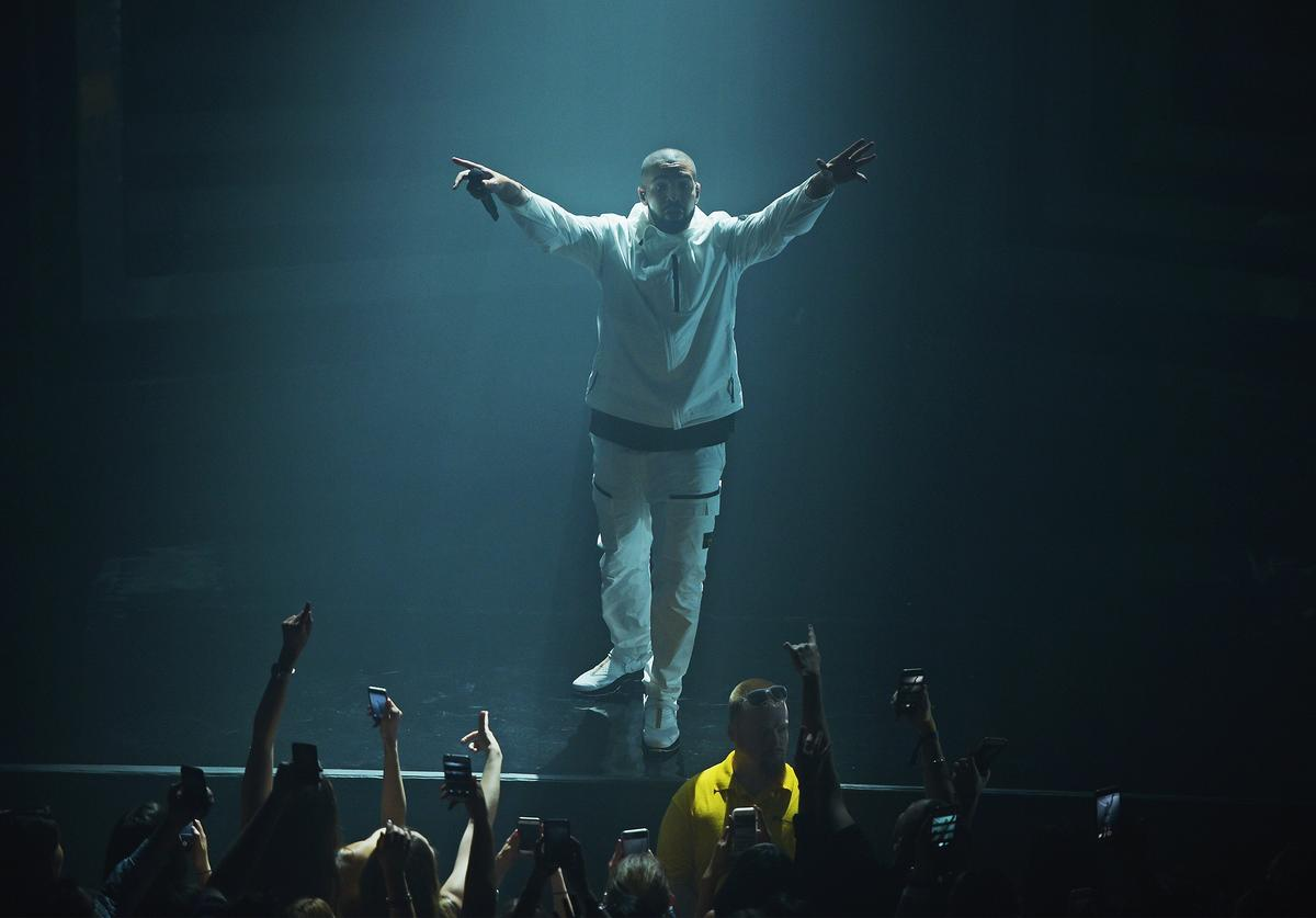 Rapper Drake performs onstage during the 2017 Adult Swim Upfront Party at Terminal 5 on May 17, 2017 in New York City