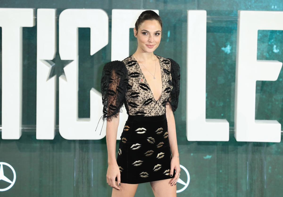 Actress Gal Gadot attends the 'Justice League' photocall at The College on November 4, 2017 in London, England