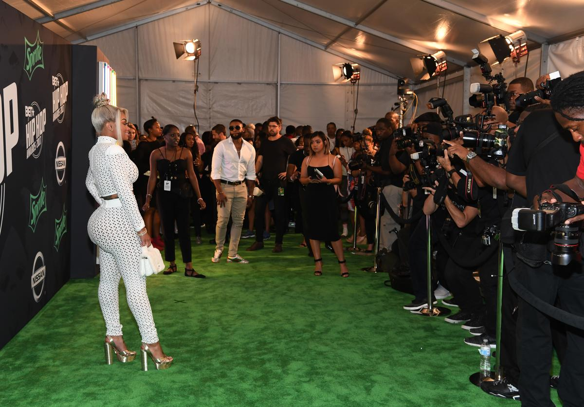 Blac Chyna attends the BET Hip Hop Awards 2017 at The Fillmore Miami Beach at the Jackie Gleason Theater on October 6, 2017 in Miami Beach, Florida