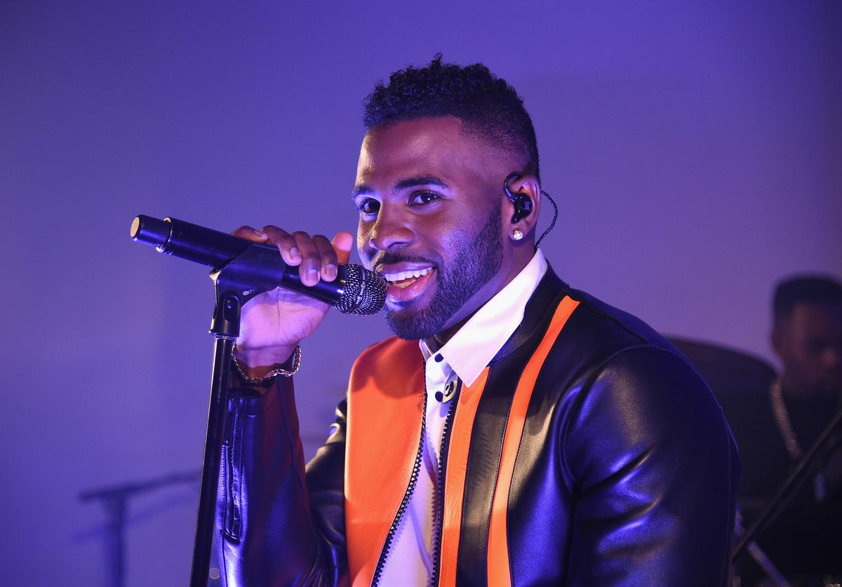 Singer-Songwriter Jason Derulo performs onstage at the GQ Gentlemen's Fund Charity Concert at The Gent on October 12, 2015 in New York City