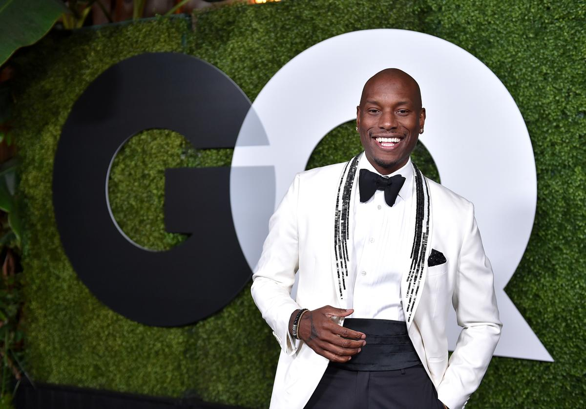 Actor/singer Tyrese Gibson attends the GQ 20th Anniversary Men Of The Year Party at Chateau Marmont on December 3, 2015 in Los Angeles, California