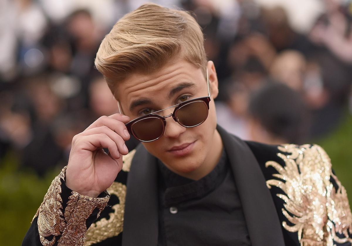 Singer Justin Bieber attends the 'China: Through The Looking Glass' Costume Institute Benefit Gala at the Metropolitan Museum of Art on May 4, 2015 in New York City