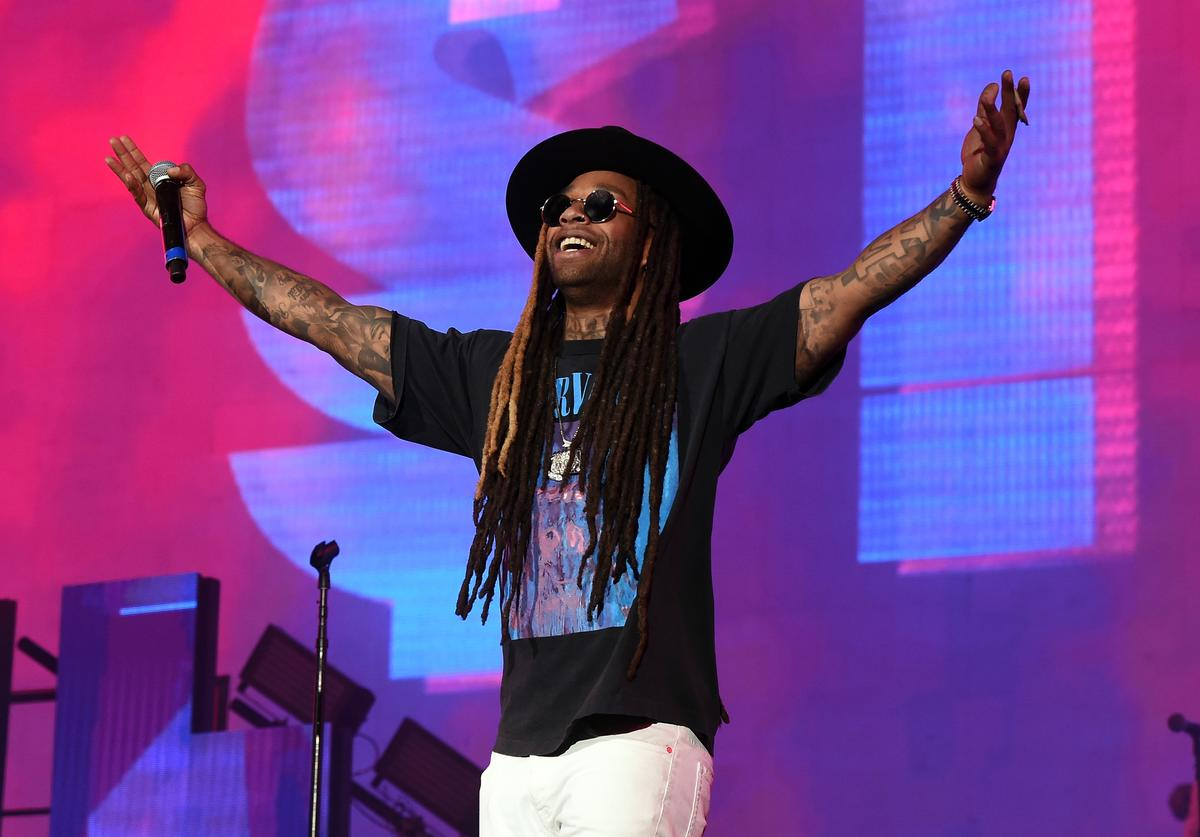 Rapper Ty Dolla Sign performs on the Coachella Stage during day 2 of the Coachella Valley Music And Arts Festival (Weekend 1) at the Empire Polo Club on April 15, 2017 in Indio, California