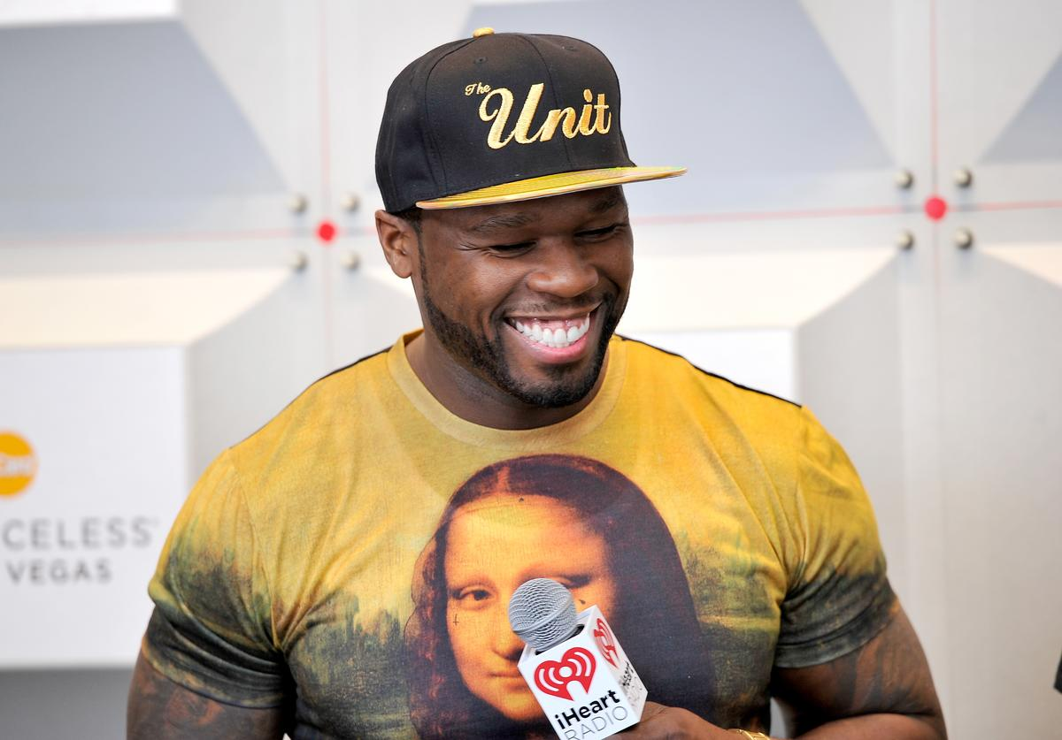 Rapper 50 Cent attends the 2014 iHeartRadio Music Festival at the MGM Grand Garden Arena on September 20, 2014 in Las Vegas, Nevada