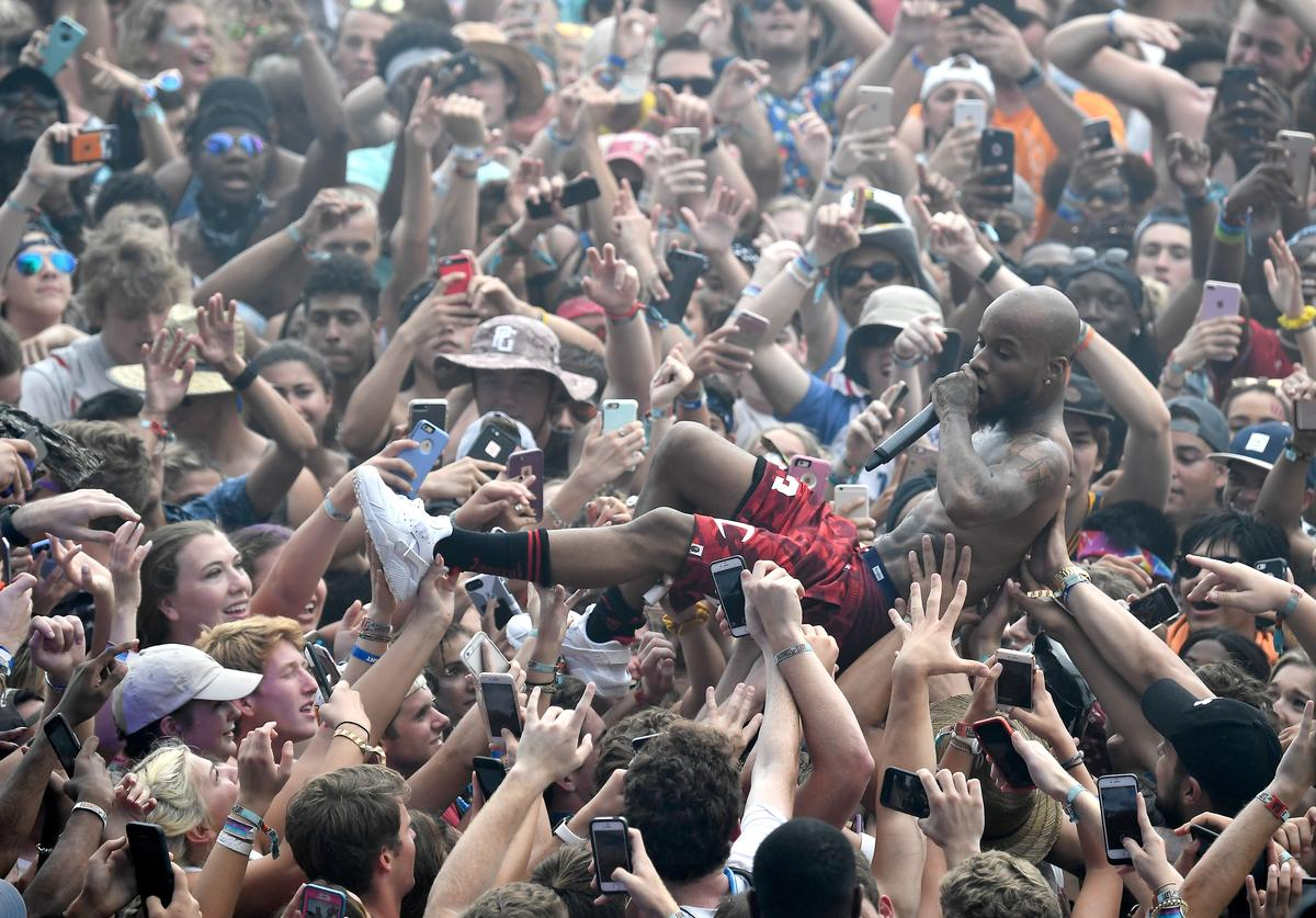 Tory Lanez performs at the Surf Stage during 2017 Hangout Music Festival on May 20, 2017 in Gulf Shores, Alabama