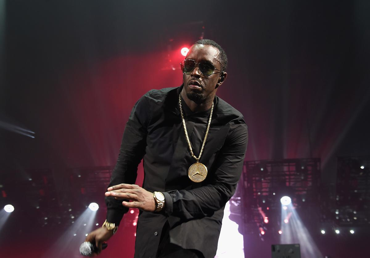 Sean 'Diddy' Combs aka Puff Daddy performs onstage during the Puff Daddy and The Family Bad Boy Reunion Tour presented by Ciroc Vodka And Live Nation at Barclays Center on May 20, 2016 in New York City