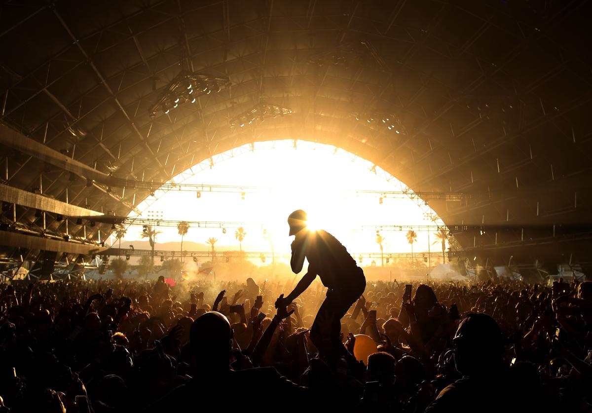 Tory Lanez performs on the Sahara Stage during day 2 of the Coachella Valley Music And Arts Festival (Weekend 1) at the Empire Polo Club on April 14, 2017 in Indio, California on April 15, 2017 in Indio, California
