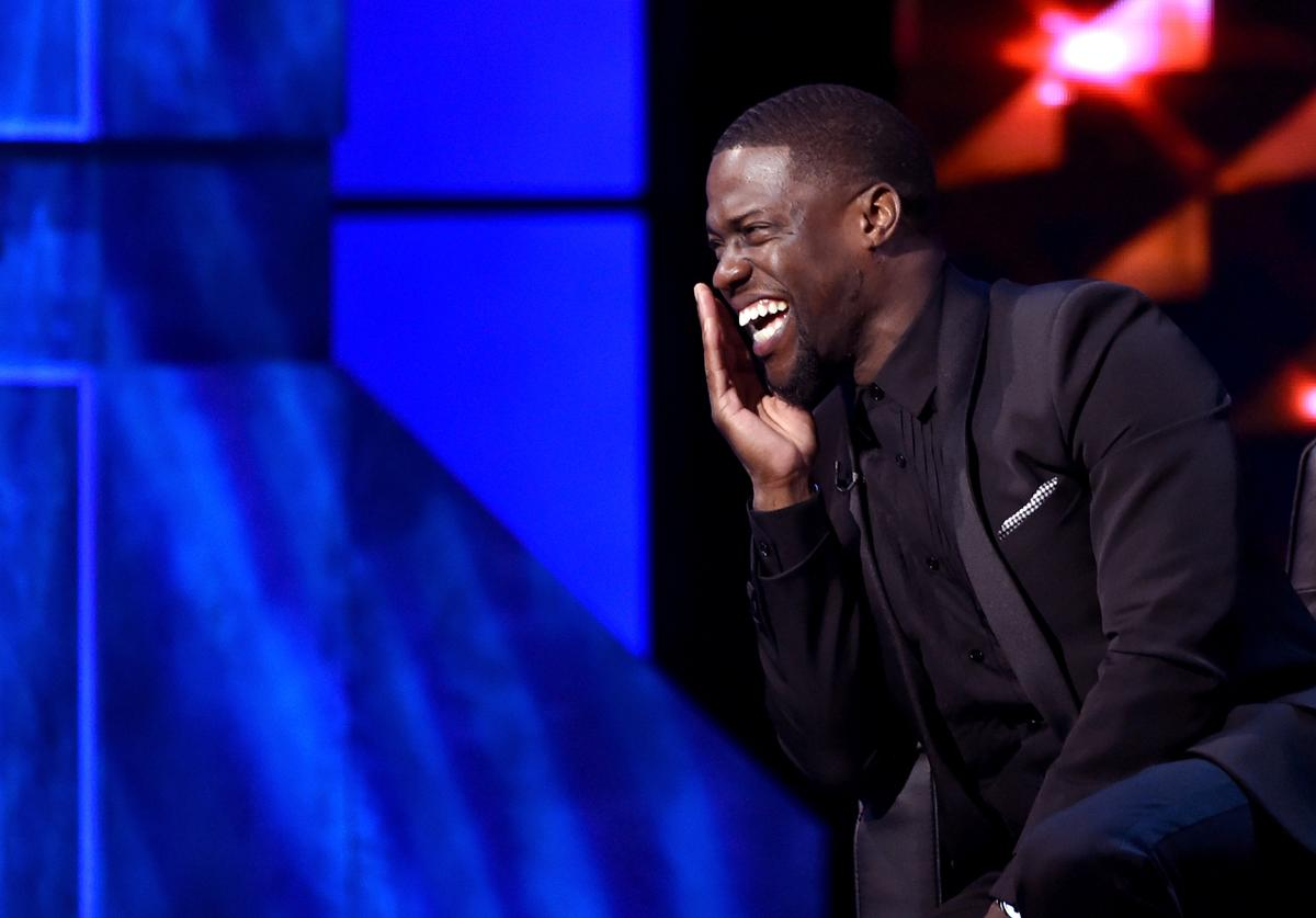 Roastmaster Kevin Hart onstage at The Comedy Central Roast of Justin Bieber at Sony Pictures Studios on March 14, 2015 in Los Angeles, California