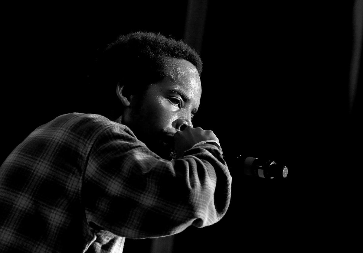 Earl Sweatshirt performs onstage during the PANDORA Discovery Den SXSW on March 19, 2015 in Austin, Texas