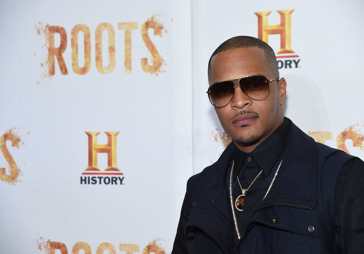 T.I. attends the 'Roots' night one screening at Alice Tully Hall, Lincoln Center on May 23, 2016 in New York City