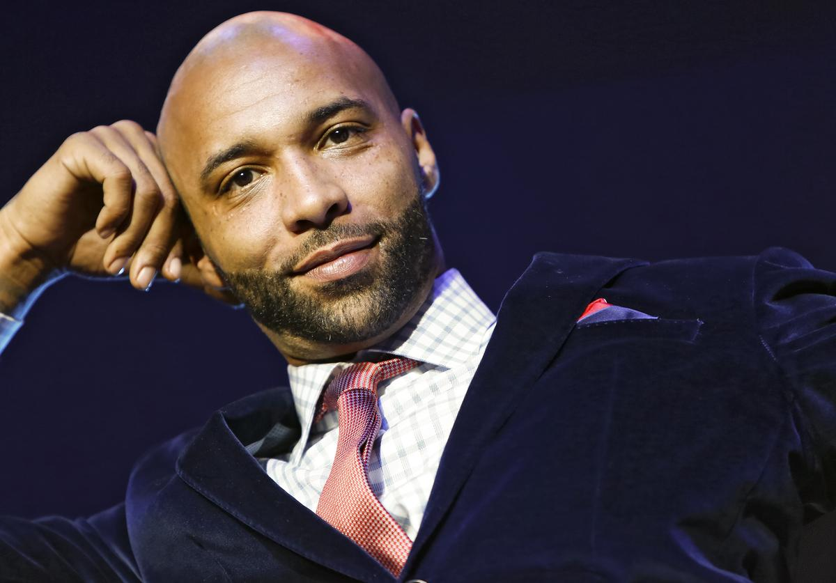 Cast member Joe Budden appears at the VH1 'Love & Hip Hop' Season 4 Premiere at Stage 48 on October 28, 2013 in New York City