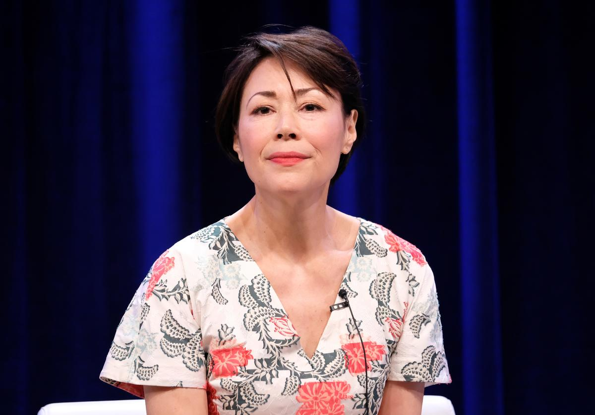 Executive producer/reporter Ann Curry of 'We'll Meet Again' speaks onstage during the PBS portion of the 2017 Summer Television Critics Association Press Tour at The Beverly Hilton Hotel on July 30, 2017 in Beverly Hills, California