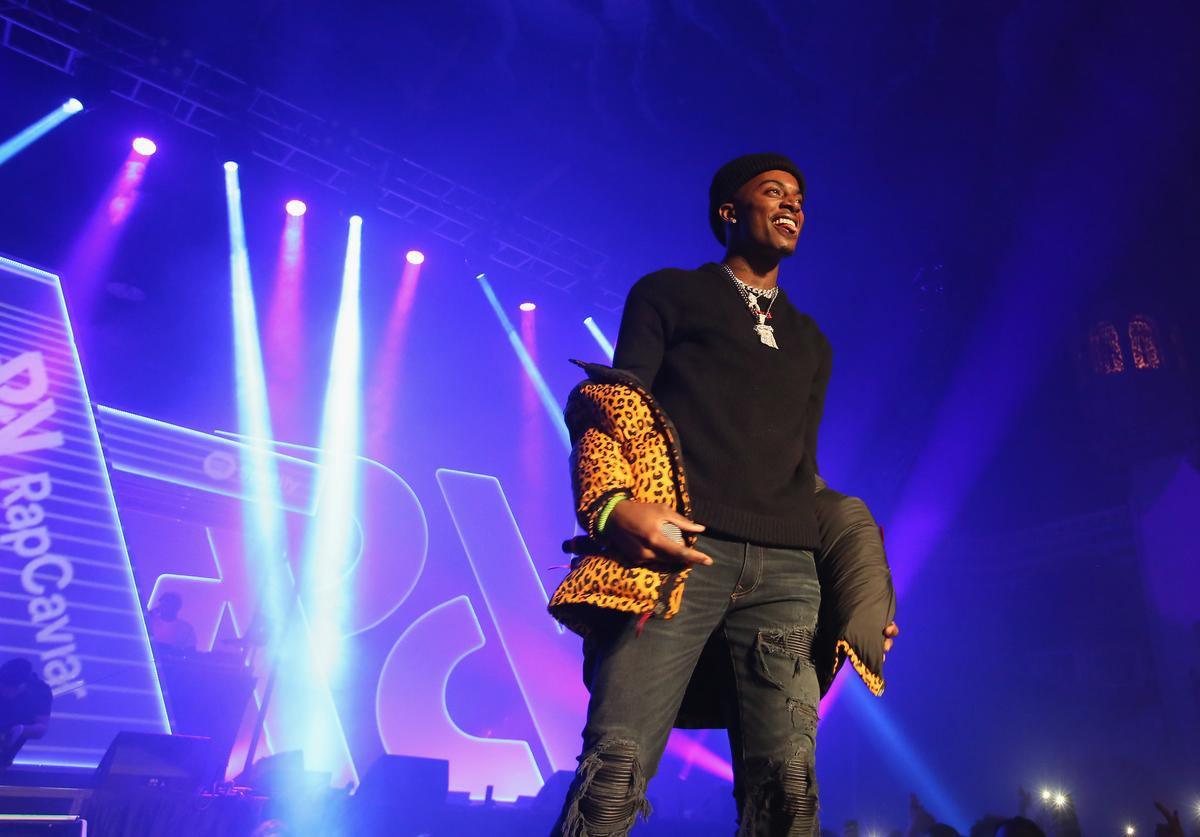 Playboi Carti performs at Spotify's RapCaviar Live in Chicago at Aragon Ballroom on October 20, 2017 in Chicago, Illinois