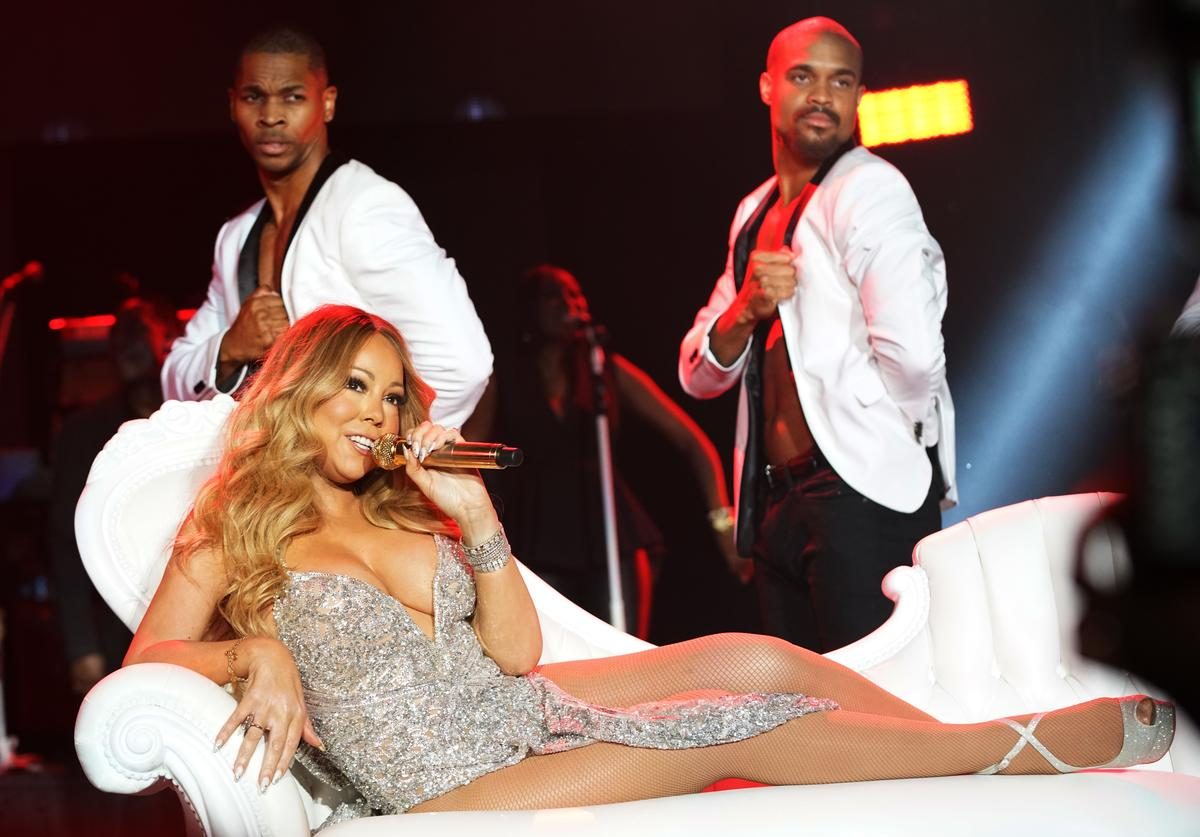 Singer Mariah Carey performs on stage during the 2016 ESSENCE Festival presented by Coca Cola at the Louisiana Superdome on July 2, 2016 in New Orleans, Louisiana