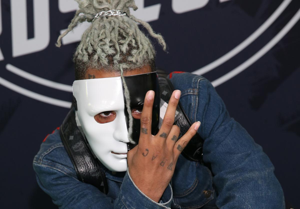 Rapper XXXTentacion attends the BET Hip Hop Awards 2017 at The Fillmore Miami Beach at the Jackie Gleason Theater on October 6, 2017 in Miami Beach, Florida