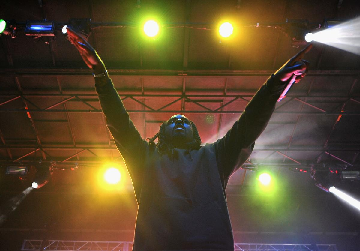 Recording artist Wale performs onstage during the 2016 Billboard Hot 100 Festival - Day 1 at Nikon at Jones Beach Theater on August 20, 2016 in Wantagh, New York