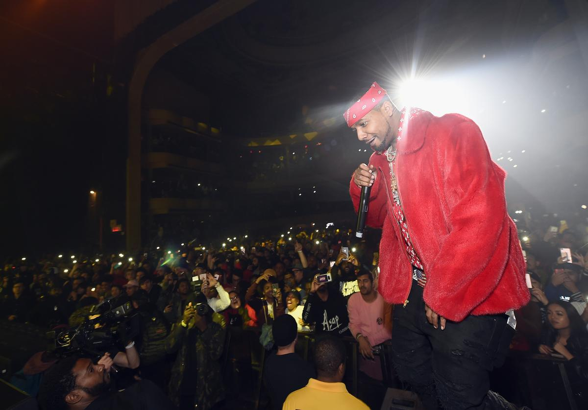 Juelz Santana performs at Spotify's Rap Caviar