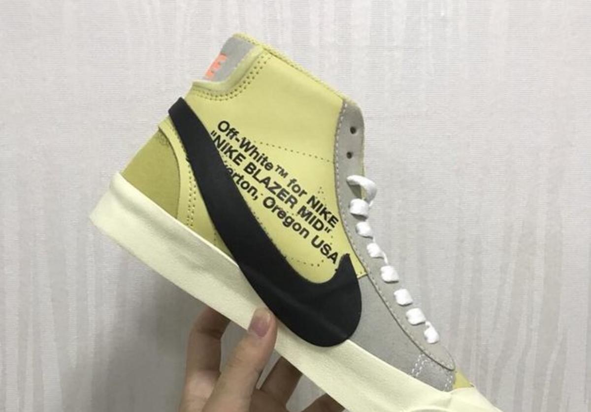 Off-White x Nike Blazer