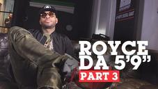 """Royce Da 5'9"""" Gives His Perspective On Hip Hop's Middle Age & Rap Retirement (3/3)"""