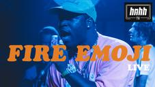 Nyck @ Knight x Fire Emoji Live: A$AP Ferg Surprise Appearance