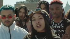 "Princess Nokia Strings Together A Rooftop Rave In ""Morphine"" Video"