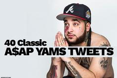 """40 Classic A$AP Yams Tweets In Preparation For A$AP Mob's """"Cozy Tapes Vol. 1"""""""