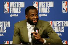 "Draymond Green Says ""Book It,"" Warriors Still Winning The Series"