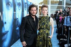 """Game Of Thrones"" Stars Kit Harringon & Leslie Rose Married In Scotland"