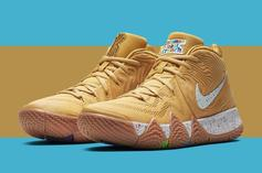 "Nike Kyrie 4 ""Cereal Pack"" New Release Details Announced"