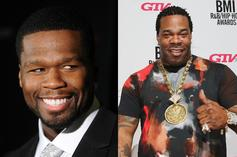 "50 Cent Clowns Busta Rhymes' Physique: ""Strongest Neck In Hip Hop"""