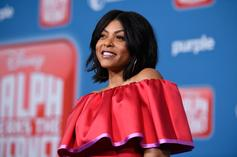 """Taraji P. Henson Opens Up About Her Engagement On Kimmel: """"I'm In Control"""""""