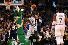 """Jamal Murray Receives """"48-Point"""" Game Ball Kyrie Irving Chucked Into Crowd"""