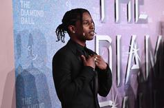"""A$AP Rocky Premieres New Song """"Sh*ttin Me"""" At Camp Flog Gnaw"""