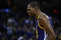 Kevin Durant Gives Drake His Jersey After 51-Point Effort In Toronto