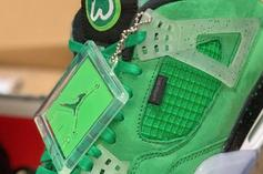 """Mark Wahlberg Offering Chance To Win """"Wahlburger"""" Air Jordan 4s"""