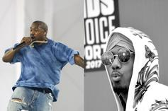 """Nick Cannon Says He'd """"Whoop"""" Kanye West In A Fight"""