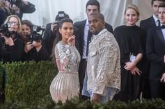 "Kim & Kanye West Threw Chicago An Extravagant ""Alice In Wonderland"" Bday Party"