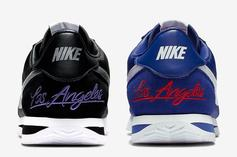 Nike Cortez Revealed In Two Los Angeles Themed Colorways: Release Info