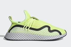 """Adidas Deerupt S Unveiled In New """"Volt"""" Colorway: First Look"""
