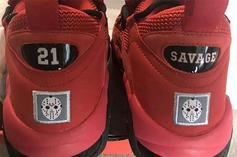 21 Savage x Nike Air More Money Sneaker Collab Surfaces