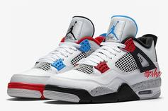 """Air Jordan 4 """"What The"""" Rumored To Release On Black Friday"""