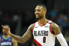 Damian Lillard Receives Warning For Flopping, Issues Response On Twitter