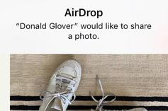 Childish Gambino Is Airdropping His Adidas Sneaker To Fans At Coachella