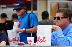 Hockey Game Disrupted By Chick-Fil-A Protestors Who Hijacked Zamboni