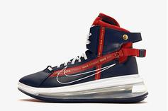 "Nike Air Max 720 Saturn ""Navy & Red"" Coming Soon: Details"