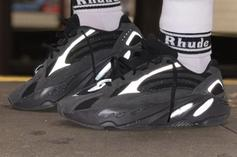 "Adidas Yeezy Boost 700 V2 ""Vanta"" On Foot-Images Revealed"